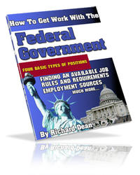 Get Work With Federal Governement