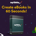 Sqribble | Worlds #1 Ebook Creator | $485 A Customer | 75% Commissions